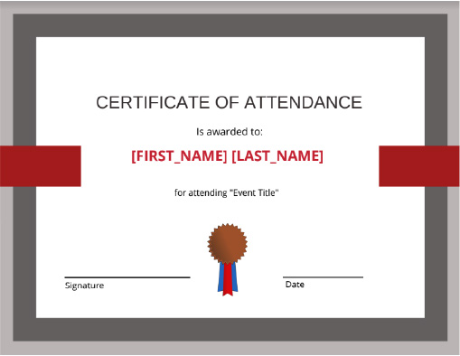 Church Certificate & Award Templates