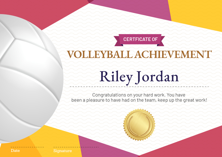 Sports-Achievement-Template