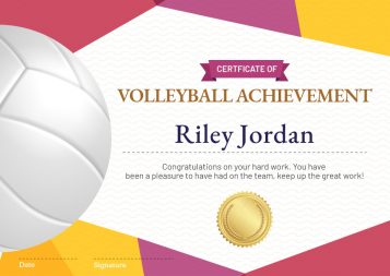 Sports-Achievement-Template